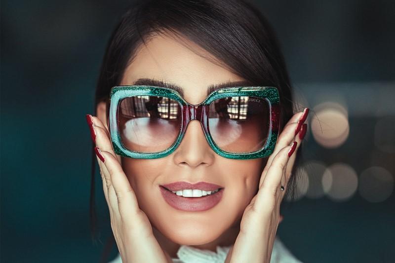 Sunglasses - diamond face shape